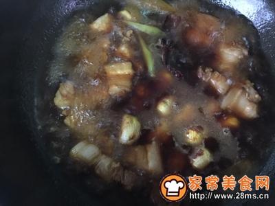 不放油的栗子红烧肉的做法图解12