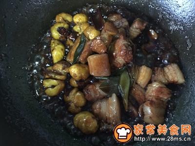 不放油的栗子红烧肉的做法图解13