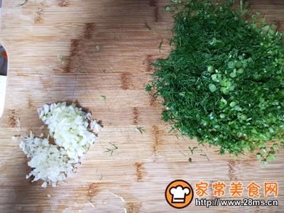 茴香猪肉蒸饺的做法图解6