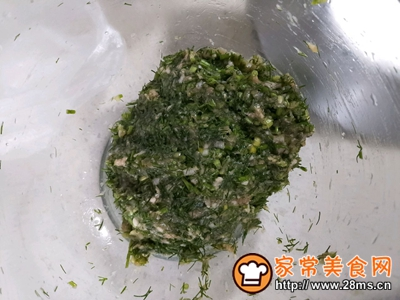 茴香猪肉蒸饺的做法图解8