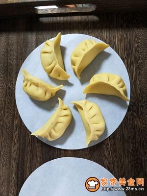 茴香猪肉蒸饺的做法图解11