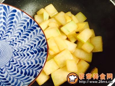 蚝油虾皮炒冬瓜的做法图解8