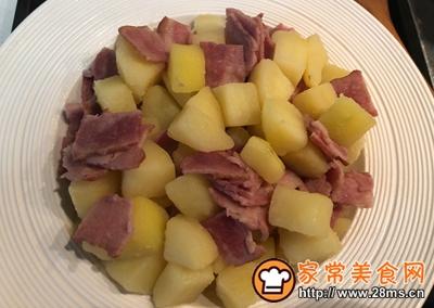 芝士�h培根土豆的做法图解6