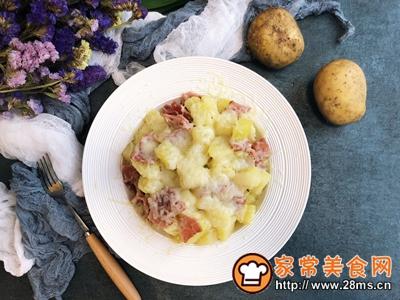 芝士�h培根土豆的做法图解8