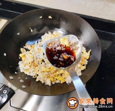 生菜蛋炒饭的做法图解6