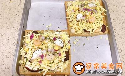 土司小披萨的做法图解5