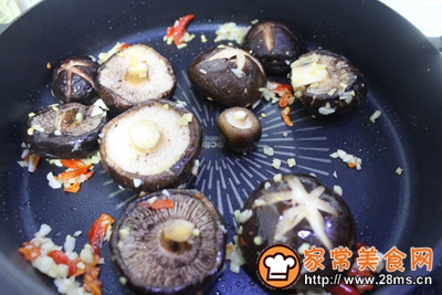 香菇油菜的做法图解7