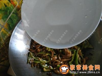 辣椒炒猪皮的做法图解7