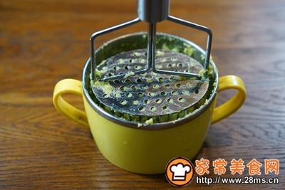 煎三文鱼牛油果沙拉配小黄瓜果蔬汁的做法图解4