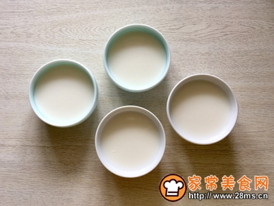 牛奶布丁的做法图解4
