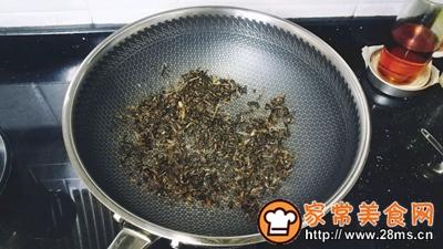 梅菜干酱油蛋炒饭的做法图解1