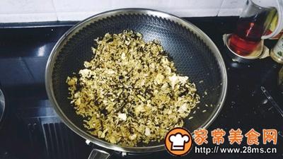 梅菜干酱油蛋炒饭的做法图解8