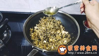 梅菜干酱油蛋炒饭的做法图解9