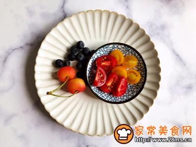水果麦片酸奶碗的做法图解3