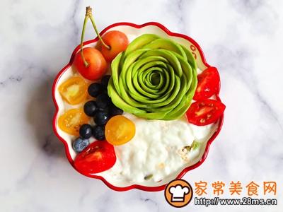 水果麦片酸奶碗的做法图解14