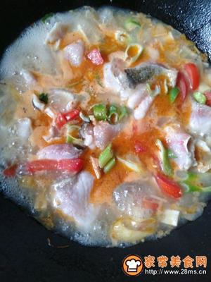 酸笋鱼片汤的做法图解8