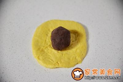 南瓜红豆面包的做法图解10
