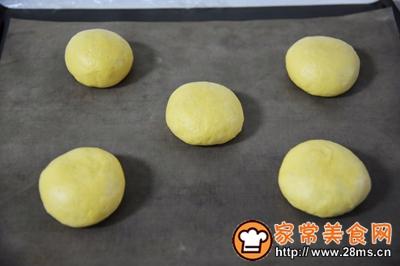 南瓜红豆面包的做法图解11