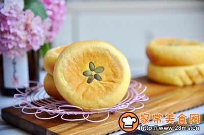 南瓜红豆面包的做法图解16