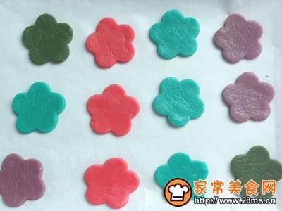 泫雅风小花花饼干减油减糖版的做法图解9
