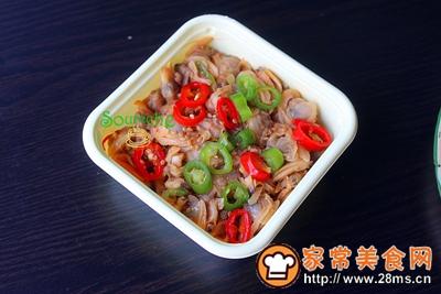 酸笋炒蛤蜊肉的做法图解2