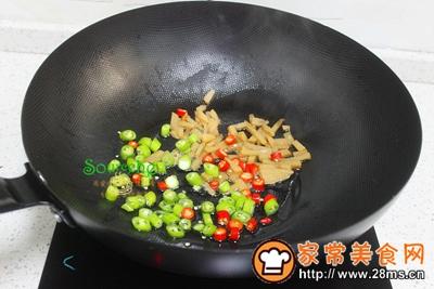 酸笋炒蛤蜊肉的做法图解4