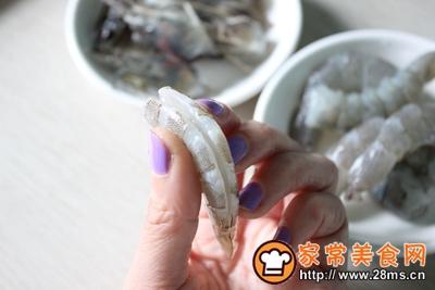 火龙果烩虾仁的做法图解4