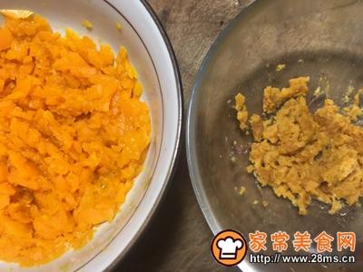 朴素蟹黄豆腐的做法图解4