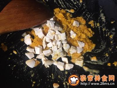 朴素蟹黄豆腐的做法图解7