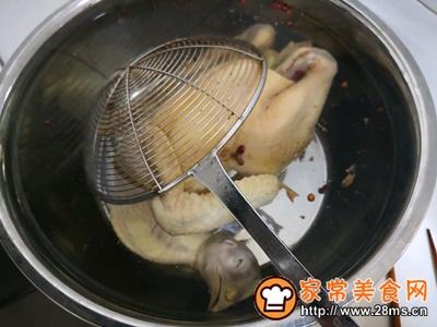 麻椒白切鸡的做法图解3