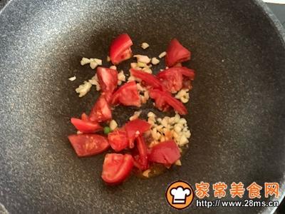 番茄香菇什锦菜的做法图解2
