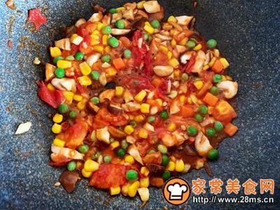 番茄香菇什锦菜的做法图解5