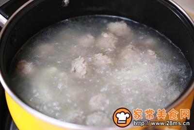 山药肉丸汤的做法图解7
