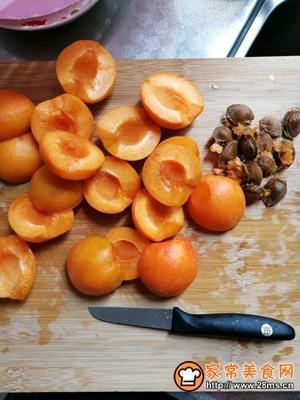 杏果脯的做法图解2