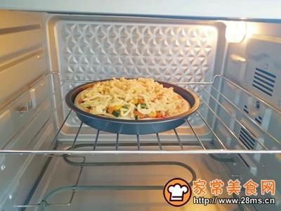 土豆彩蔬披萨的做法图解11