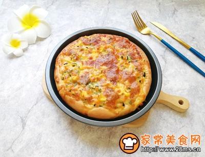 土豆彩蔬披萨的做法图解14