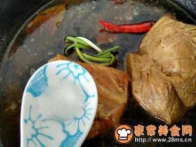 凉拌牛肉的做法图解3