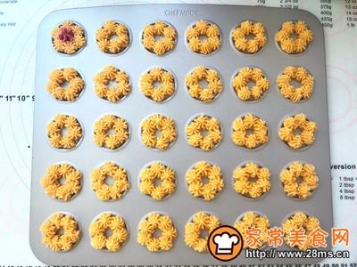 花朵曲奇饼干的做法图解9