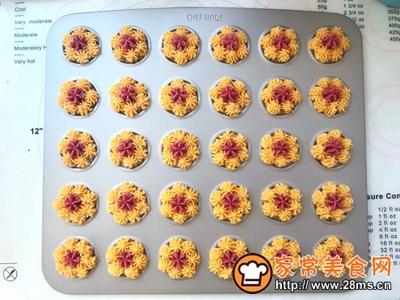花朵曲奇饼干的做法图解10