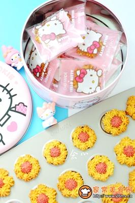花朵曲奇饼干的做法图解12