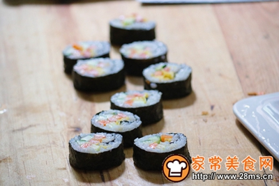 寿司的做法图解7