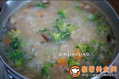 海米蔬菜粥的做法图解7