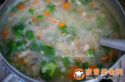 海米蔬菜粥的做法图解9