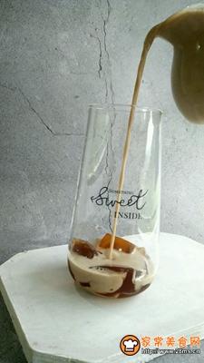 仙草冻奶茶的做法图解10