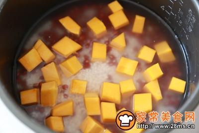南瓜红豆饭的做法图解4