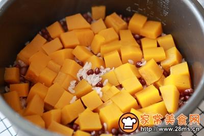 南瓜红豆饭的做法图解5