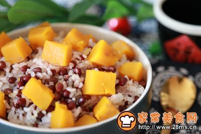 南瓜红豆饭的做法图解6