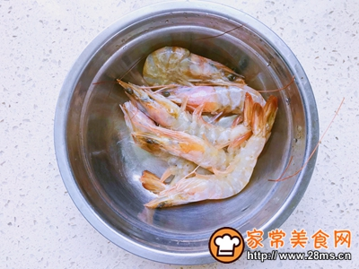 番茄虾滑盖饭的做法图解1