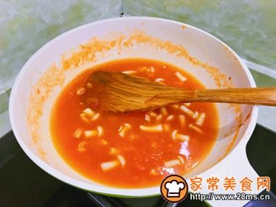 番茄虾滑盖饭的做法图解9
