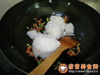 家常炒饭的做法图解7